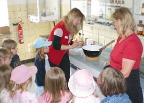 Besuch aus dem Kindergarten